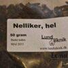 Nelliker, hel, 50 gram
