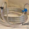 """Chiller, 6 m, tyndvæget syrefast stål m/ slanger og 1/2"""" tilslut"""